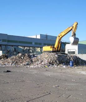 Проект завода по переработке твердых бытовых отходов